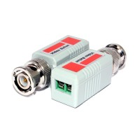 BNC Passive Video Balun Pair For CCTV Over LAN Ethernet Network Cable
