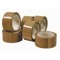 50mm Brown 66m Packaging Wrapping Polypropylene Tape