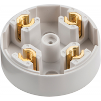 20A 4 Terminal Plastic PVC Electrical Connection Junction Box