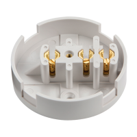 30A 3 Terminal Plastic PVC Electrical Connection Junction Box