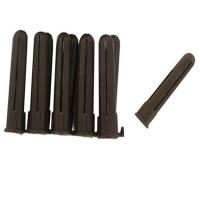 Brown Plastic 4-6mm Rawl Wall Plugs