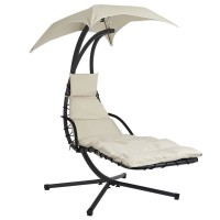 Cream Swinging Helicopter Dream Chair