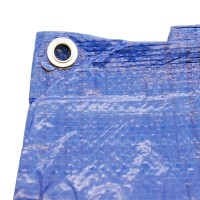 10' x 12' Heavy Duty Blue Weatherproof Tarp Ground Sheet