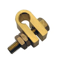 "3/8"" Earth Rod Machined Clamp"