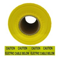 Live Electrical Cable Warning Tape 365M Roll