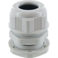 PG21 IP68 Nylon Cable Compression Gland