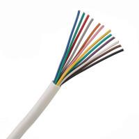 6 Pair 12 Core Round White Burglar Alarm Cable