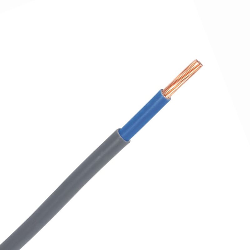 Grey 16mm 74A Blue Meter Tails 6181Y Round PVC/PVC Harmonised Cable