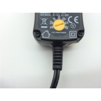 600mA AC-DC Universal Multi Voltage Plug In Mains Power Supply Adapter