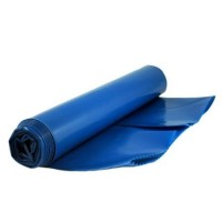 Blue Heavy Duty Waterproof Plastic Rubble Builders Poly Bags Sacks