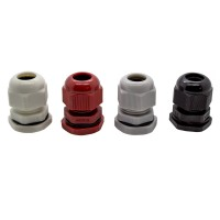 M20 IP68 6-12mm Compression Cable Gland with Locknut